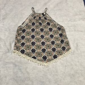 H&M Divided Flowers Shirt Size 6